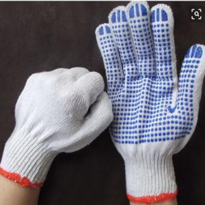 10 Gauge PVC Cotton Gloves for Garden/Industrial pictures & photos
