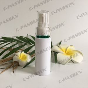 Plastic Skincare Packaging White Pet Bottle with Lotion Pump (PPC-PB-063) pictures & photos