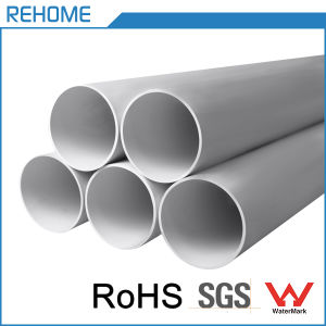 Manufacturer Supplier Plastic Drainage Cheap PVC Pipe with Watermark pictures & photos