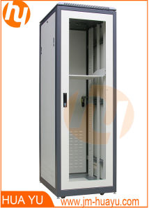 Floor Standing Metal Server Cabinet/Rack with Glass Door pictures & photos