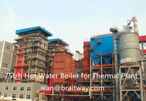 Coal Fired High Efficiency Circulating Fluidized Bed Hot Water Boiler pictures & photos