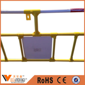 China Traffic Plastic Safety Barrier on Road with Cheapest Price pictures & photos
