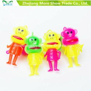 Light-up Flashing Sounding Spiky Puffer Yo-Yo Ball Toys pictures & photos