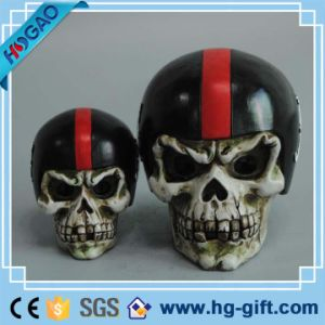 New Resin Replica Life Human Skull Model Medical Anatomy Halloween Collectable pictures & photos