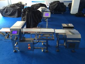 Online Metal Inspection and Weight Checking Combo Machine pictures & photos