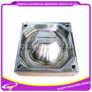 Plastic Injection Small Pattern Leaking Basket Mould pictures & photos