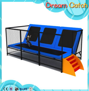 Manufacturing Customized Commercial Big Indoor Trampoline pictures & photos