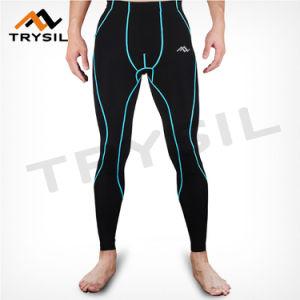 Men′s Bodybuilding Legging Active Gym Fitness Pants pictures & photos