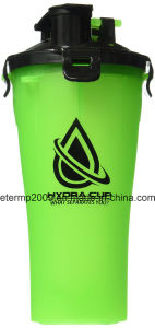OEM 700ml Plastic Double Separated Shaker Bottle BPA Free Hydra Cup pictures & photos
