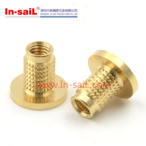 Brass Threaded Insert Nut with Multi-Barb pictures & photos