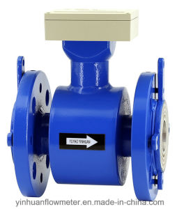 Zc Intelligent Converter Flange Integrated Electromagnetic Flowmeter pictures & photos