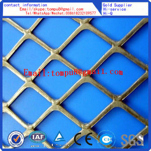 Heavy Duty Steel Diamond Flat Plate Expanded Metal Mesh pictures & photos