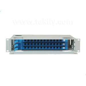 19′′ 24 Cores Fixed Rack-Mount Fiber Optic Distribution Frame pictures & photos