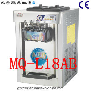 Cheap Table Soft Ice Cream Machine with High Quality pictures & photos