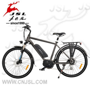"250W Brushless Motor 26"" Aluminum Alloy Frame City Electric Bike pictures & photos"