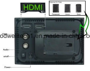 HDMI Input /Output 800X 480 Professional Camera 5 Inch LCD Monitor, 16: 9 with 5D II Camera Mode pictures & photos