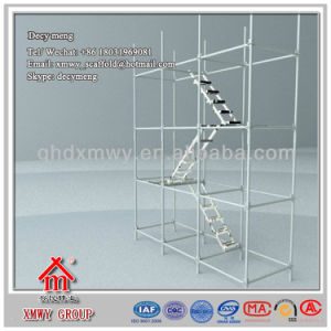 Hot DIP Galvanized Surface Scaffolding Ladder with Factory Price