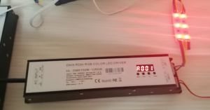 DMX/Rdm RGB Color LED Power Supply 12V 150W pictures & photos