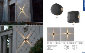 4W LED Garden Wall Light Fixtures pictures & photos