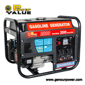 Factory Price 3kw Gasoline Partable 220V Engine Generator Set pictures & photos