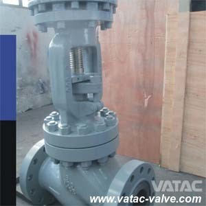 Bolted Bonnet Cast Steel Globe Valve with Handwheel Operated pictures & photos
