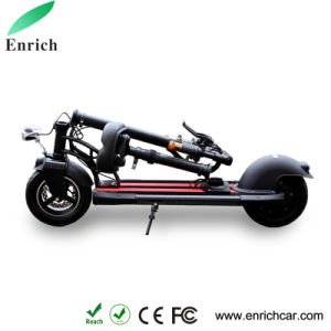 Black Foldable Electric Bike Electric Skateboard for Fun Driving pictures & photos
