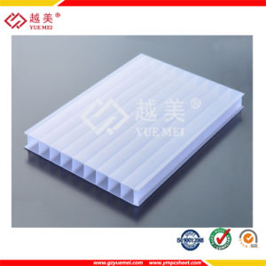 10 Years Warranty Lexan Double Wall Polycarbonate Roofing Sheet (YM-PC-027) pictures & photos