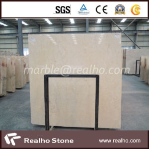 Polished Yellow/Beige Slab/Tile Marble for Flooring Tile