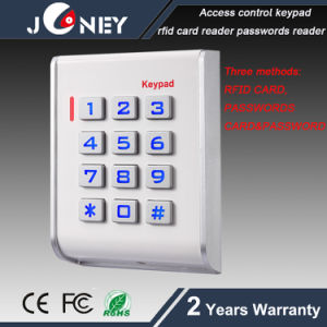 Single Door Access Control Keypad with Proximity RFID Card, Password Methods pictures & photos
