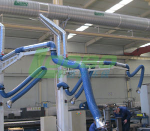 Flexible Welding Fume Extraction Arm Wirh Extension Rod pictures & photos
