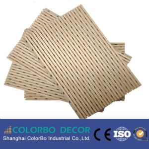 Wooden Timber MDF Soundproof Fireproof Acoustic Panel Board pictures & photos