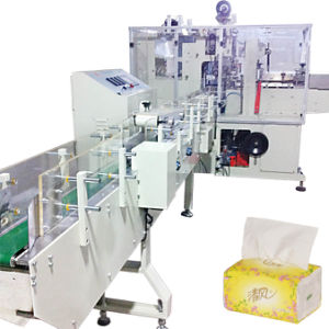 Facial Handkerchief Paper Filling Sealing Packing Machine pictures & photos