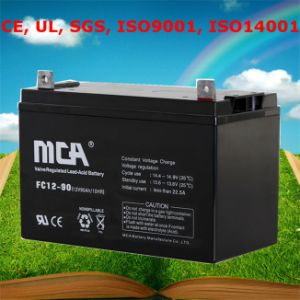 Good Quality Electric Energy Storage Battery Deep Cycle 90ah pictures & photos