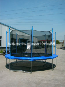Round Big Trampoline with Enclosure Ht-Tp112 pictures & photos