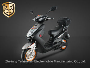 800W Fashionable Drum Brake Brushless Motor Electric Motorcycle with Trunk