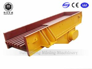 Mining Electromagnetic High-Efficiency Vibrating Feeder with Screen pictures & photos