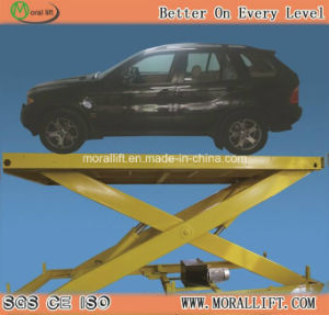 CE Approval Hydraulic Scissor Auto Car Lift pictures & photos