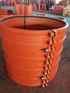 Pipe Repair Clamp H1000X1000, Pipe Repair Coupling, Pipe Repair Sleeve, Pipe Leak Repair Clamp for Cast Iron Pipe, Ductile Iron Pipe, Leaking Pipe Quick Repair pictures & photos
