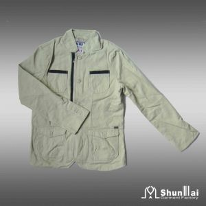 100% Cotton Outdoor Jacket for Men