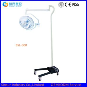 Ceiling One Head Shadowless Cold Light Halogen Operating Lamp pictures & photos