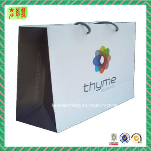 Matte Color Paper Gift Bags with Promotional Logo pictures & photos