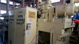 Second Hand TPU Extrusion Laminating Fabric Machine pictures & photos