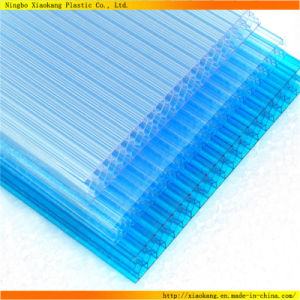 UV Coated Clear Hollow Polycarbonate Sheet Hollow Sun Panel (XK-119)