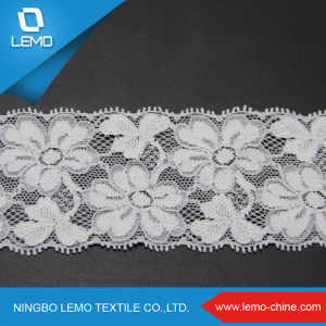 New Fashion Gold Swiss Voile Embroidery Lace pictures & photos