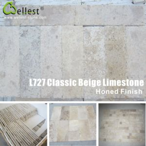 Classic Beige Limestone Paving Stone pictures & photos