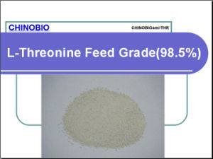 L-Threonine Feed Grade (98.5%) for Animal Feed Additives