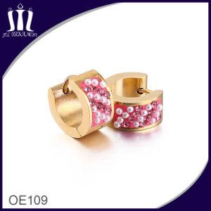 Europe Popular Custom Rose Earrings for Women pictures & photos