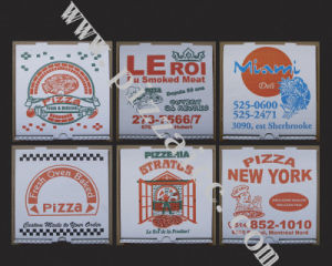 Pizza Boxes, Corrugated Bakery Box (CCB023) pictures & photos