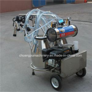 Gasoline Mobile Milking Machine for Sale pictures & photos