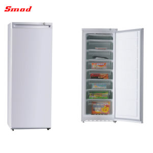 China Manual Defrost Stainless Steel Deep Upright Freezer with Drawer pictures & photos